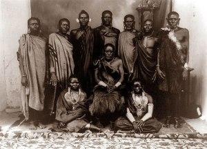 Kenyan Family circa 1800's