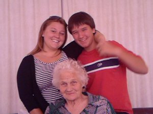 Grandma, Belinda and Allister