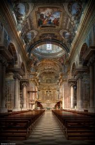 Baroque Basilica San Giovanni Battista Finale Ligure, Italy